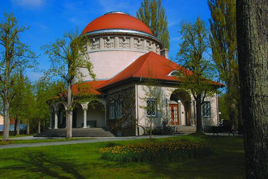 Kuppelbau-Krematorium